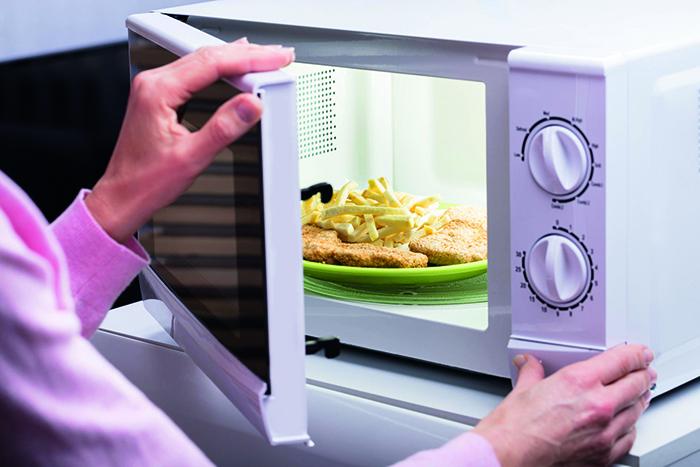 Kochen mit mikrowelle ungesund