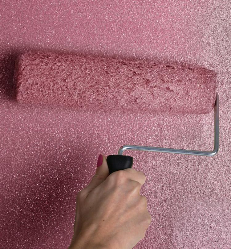 Glitzernde Wandfarbe Gehort Zu Den Schonsten Wohntrends 2020 El Aviso